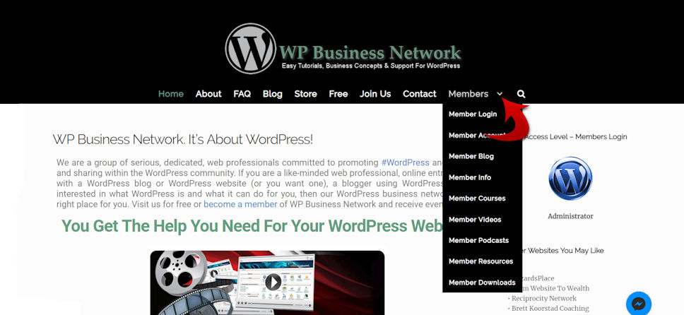 WP Business Network Stephen B. Henry WordPress Wizard Wiz