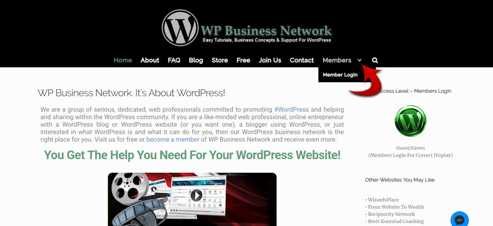 WP Business Network WordPress Wizard Wiz Stephen B. Henry