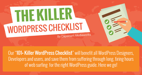 WordPress Business Network Checklist Header